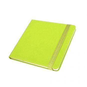 Ежедневник недатированный «Quadro», A5-, салатовый