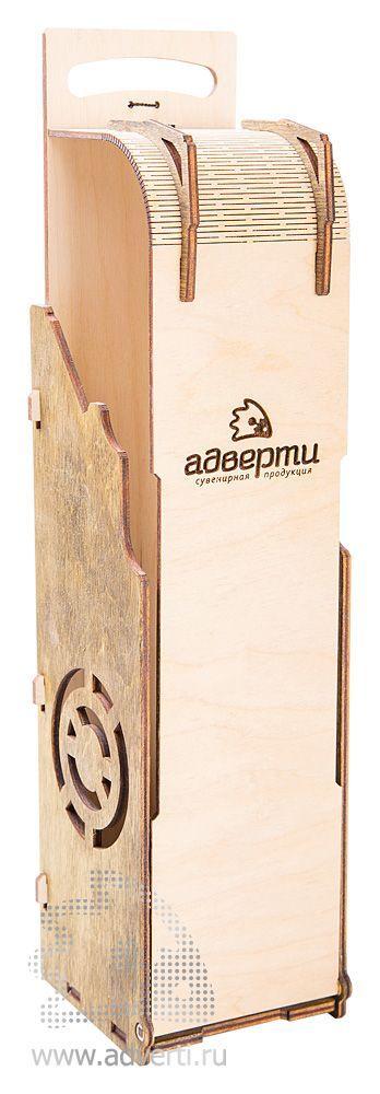 Подарочная коробка для вина, откидная