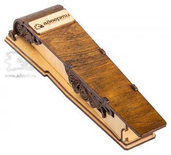 Пенал для ручки с изогнутой крышкой на магните
