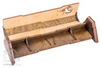 Пенал для ручки «Призма» на магните, в открытом виде