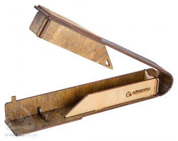 Пенал для ручки «Профиль» на магните, в открытом виде