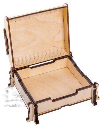 Подарочный короб «Сундук», открытый