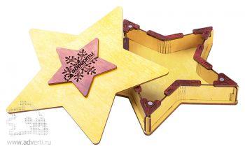 Подарочная шкатулка «Звездочка», открытая