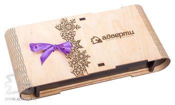 Подарочная коробка-книжка «Снежинка»
