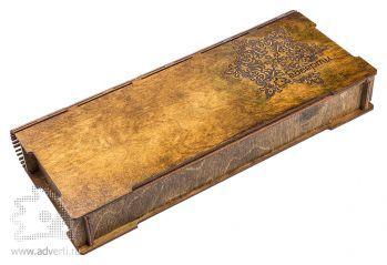 Подарочная коробка-книжка «Снежинка 2»