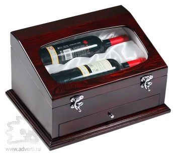 Шкатулка для вина «Ларец Изабеллы», упаковка