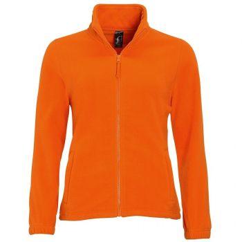 Куртка «North Women 300», женская, Sol's, Франция, оранжевая