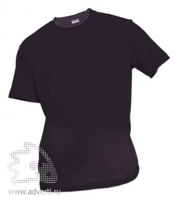 Футболка «Eurotex 150», унисекс, черная