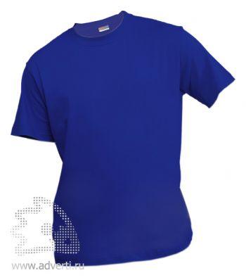 Футболка «Eurotex 150», унисекс, темно-синяя