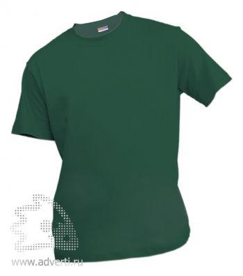 Футболка «Eurotex 150», унисекс, темно-зеленая