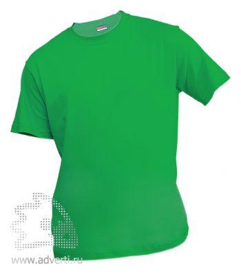 Футболка «Eurotex 150», унисекс, зеленая