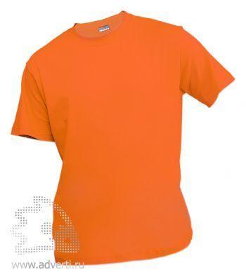 Футболка «Eurotex 150», унисекс, оранжевая