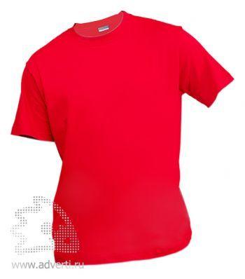 Футболка «Eurotex 150», унисекс, красная