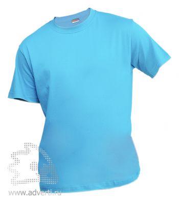 Футболка «Eurotex 150», унисекс, голубая