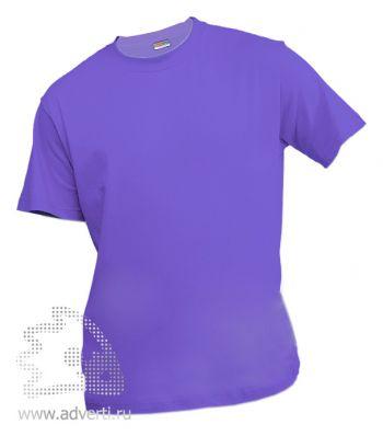 Футболка «Eurotex 150», унисекс, фиолетовая