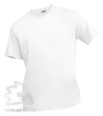 Футболка «Eurotex 150», унисекс, белая