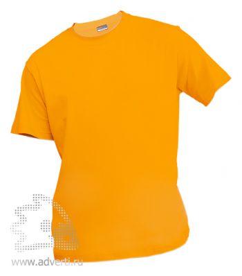 Футболка «Eurotex 150», унисекс, желтая