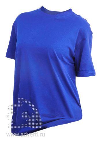 Футболка «Eurotex 160», унисекс, синяя