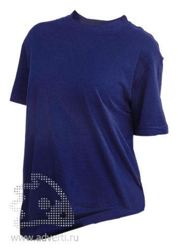 Футболка «Eurotex 160», унисекс, темно-синяя