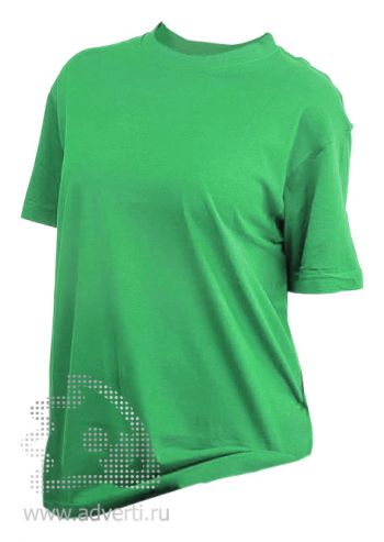 Футболка «Eurotex 160», унисекс, зеленая