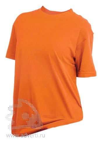 Футболка «Eurotex 160», унисекс, оранжевая