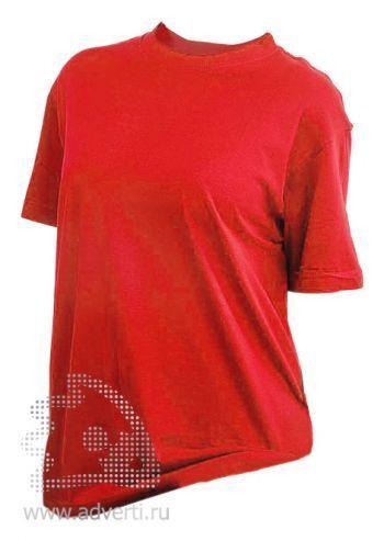 Футболка «Eurotex 160», унисекс, красная