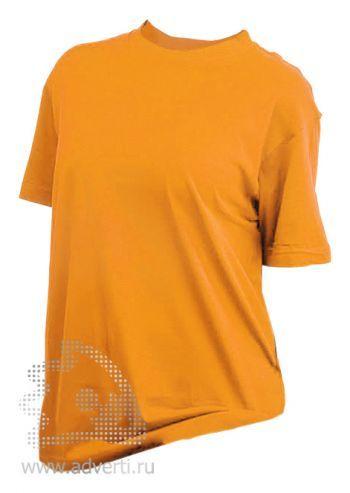 Футболка «Eurotex 160», унисекс, желтая