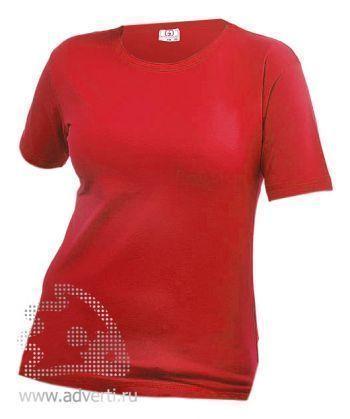 Футболка «Eurotex 180», женская, бордовая