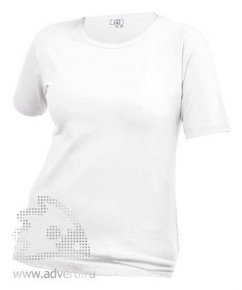 Футболка «Eurotex 180», женская, белая
