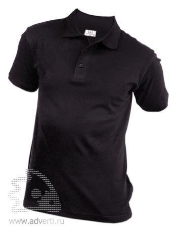 Рубашка поло «Eurotex», унисекс, черная