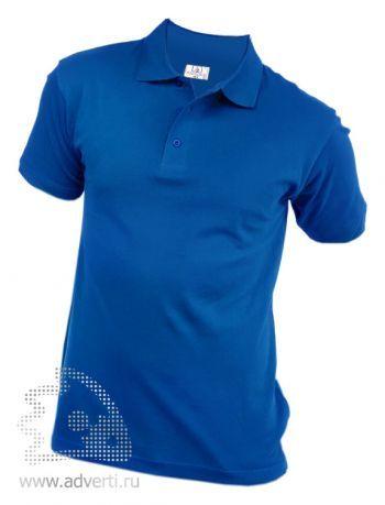 Рубашка поло «Eurotex», унисекс, синяя