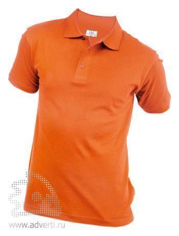 Рубашка поло «Eurotex», унисекс, оранжевая