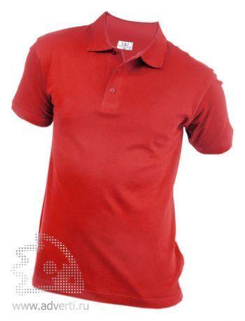 Рубашка поло «Eurotex», унисекс, красная