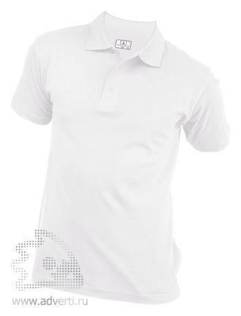 Рубашка поло «Eurotex», унисекс, белая