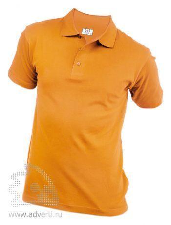 Рубашка поло «Eurotex», унисекс, желтая