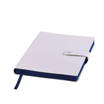 Ежедневник «STELLAR», белый, темно-синий