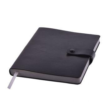 Ежедневник «STELLAR», черный, серый