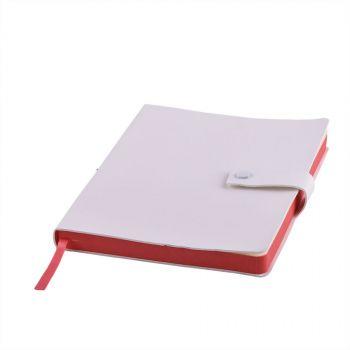 Ежедневник «STELLAR», белый, красный