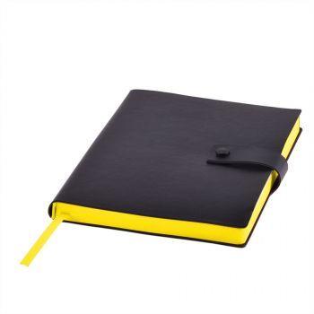 Ежедневник «STELLAR», черный, желтый