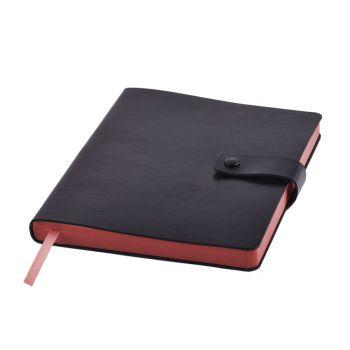 Ежедневник «STELLAR», черный, красный