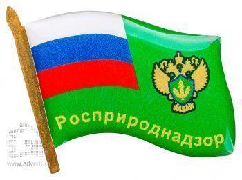 Значки с полимерной заливкой, флаги