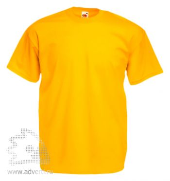 Футболка «Valueweight T», мужская, ярко-желтая