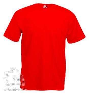 Футболка «Valueweight T», мужская, красная