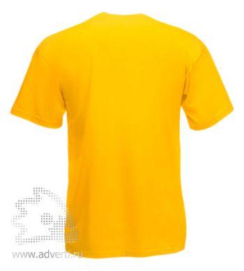 Футболка «Valueweight T», мужская, ярко-желая оборот