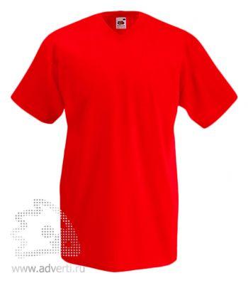 Футболка «Valueweight V-Neck T», мужская, красная