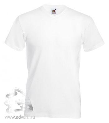Футболка «Valueweight V-Neck T», мужская, белая