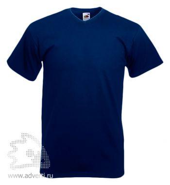 Футболка «Valueweight V-Neck T», мужская, темно-синяя