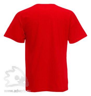 Футболка «Valueweight V-Neck T», мужская, красная оборот