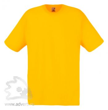 Футболка «Screen Stars Original Full-Cut T», мужская, ярко-желтая
