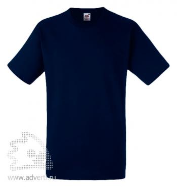 Футболка «Heavy Cotton T», мужская, темно-синяя